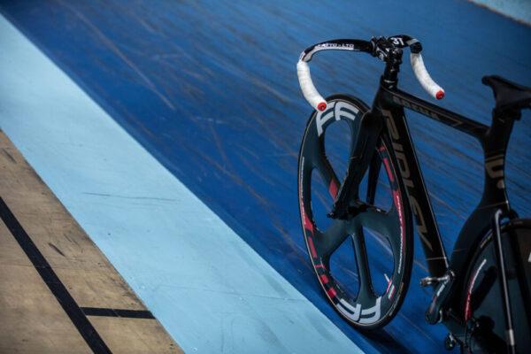 cykel på bana