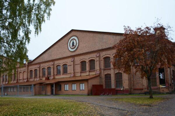 velodromen i falun byggnad